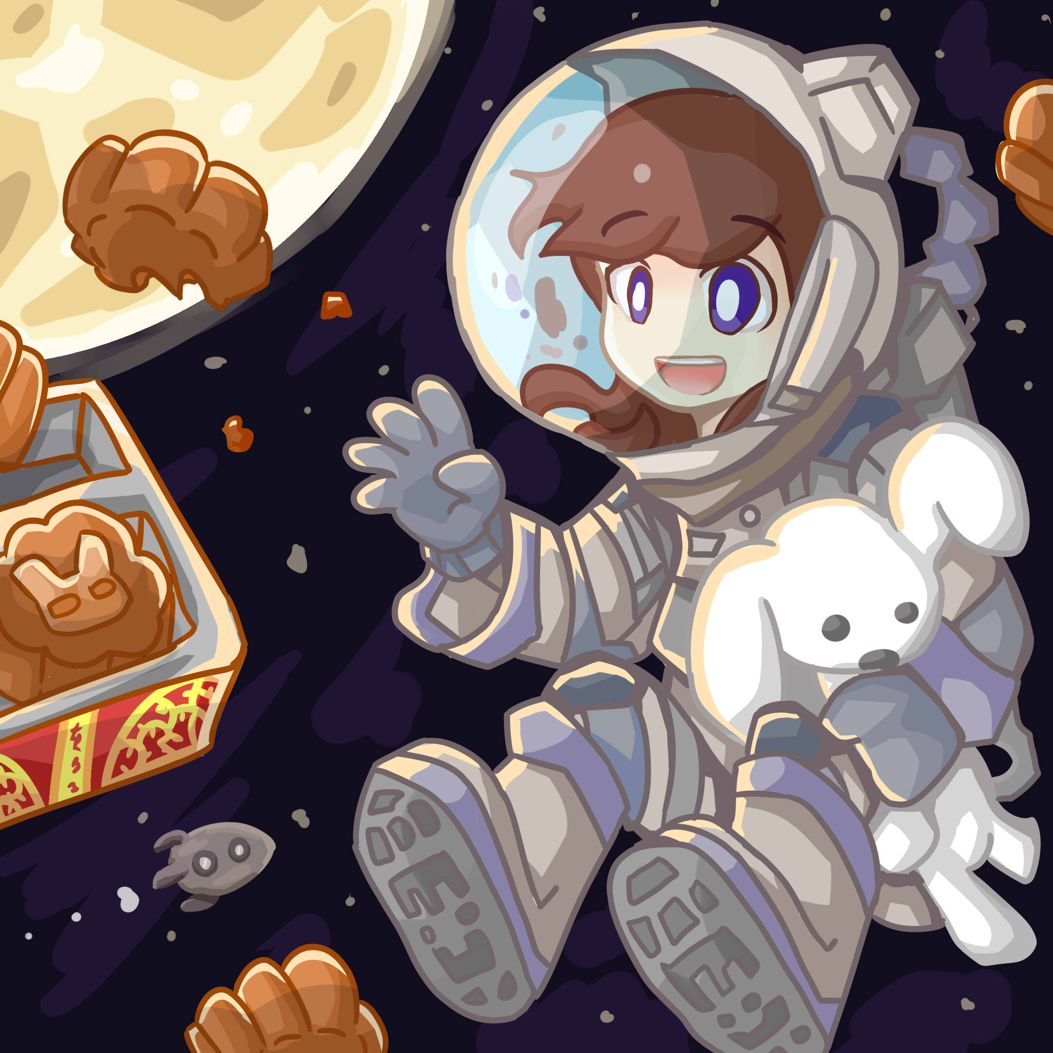 Outer Space Mooncake festival