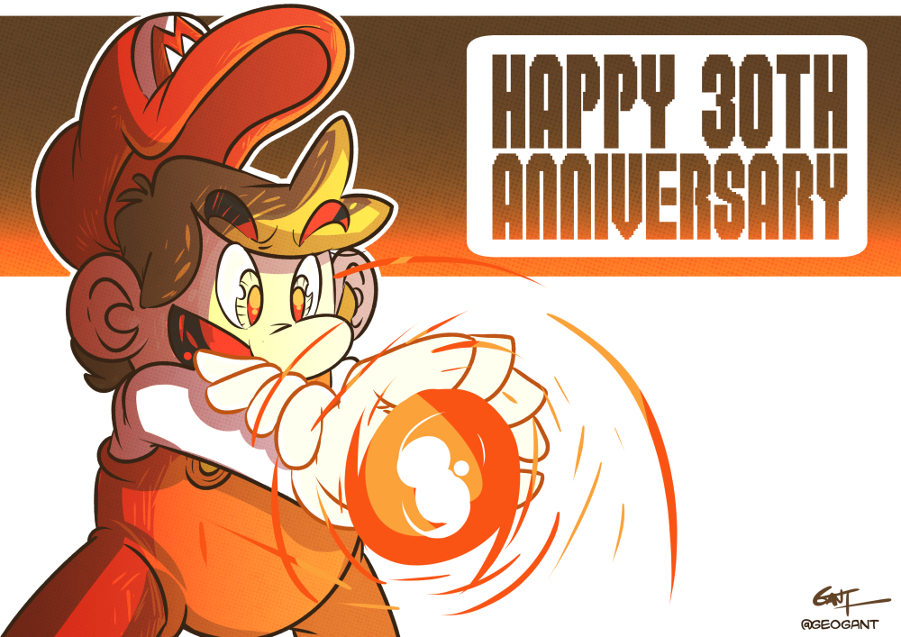 Happy Anniverary, Super Mario Bros.