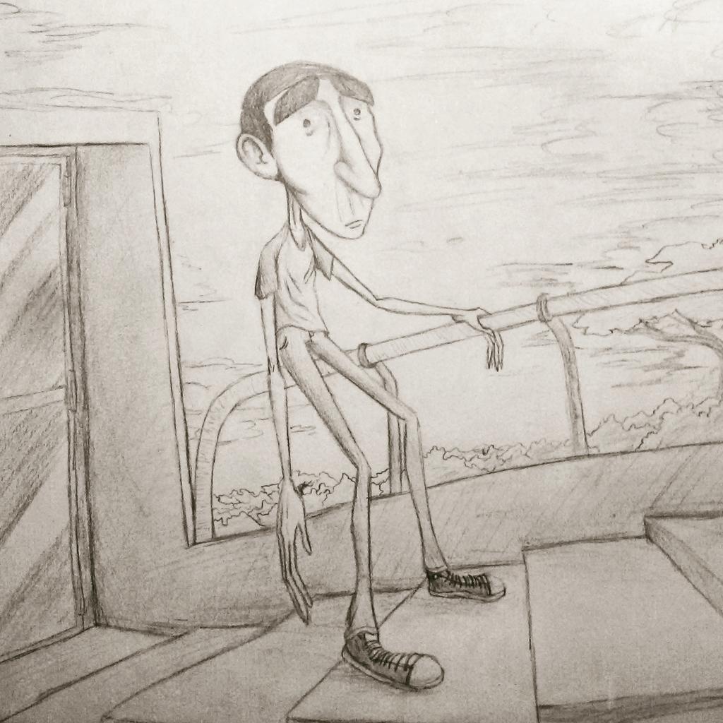 School Sketch #1