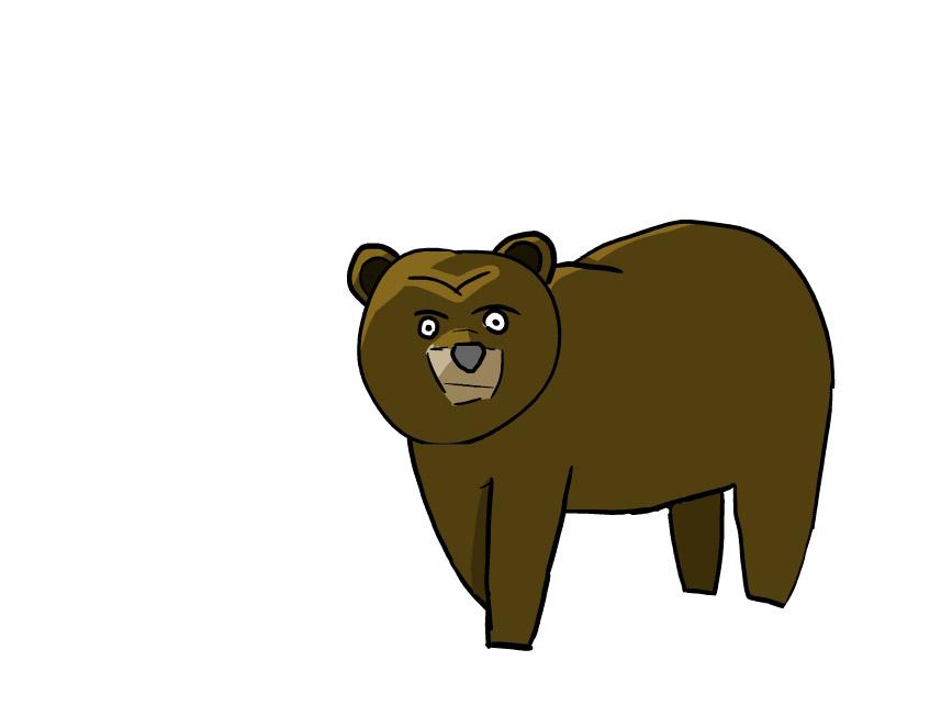Bear 1st Attempt