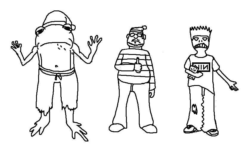 Sketches - Characters for a Show