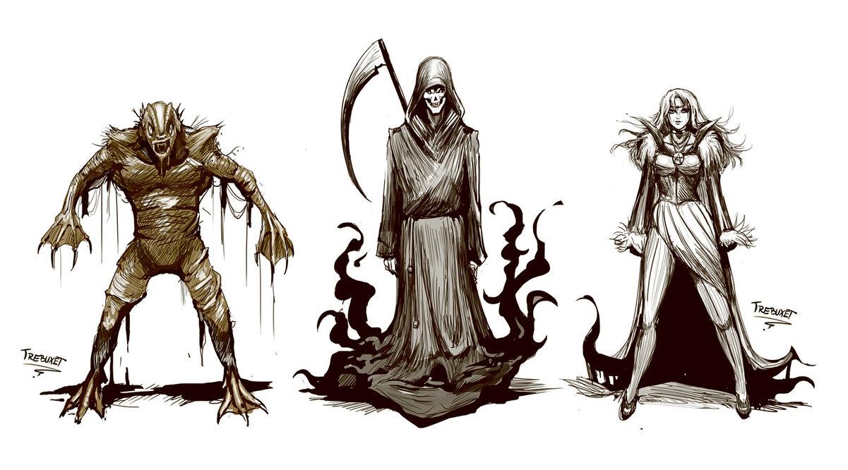 Horror Game Concept Art 2