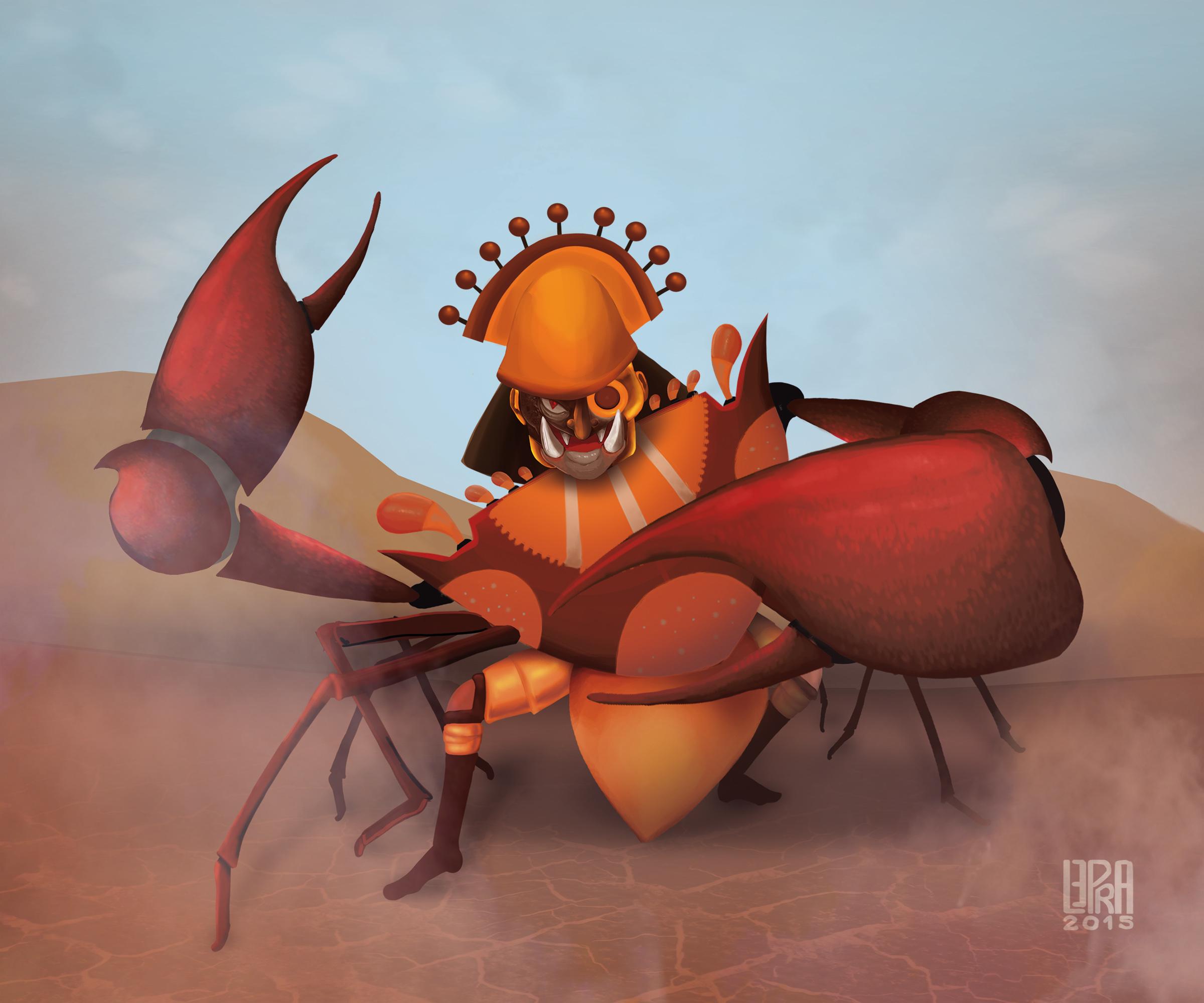 Mochica Crab God