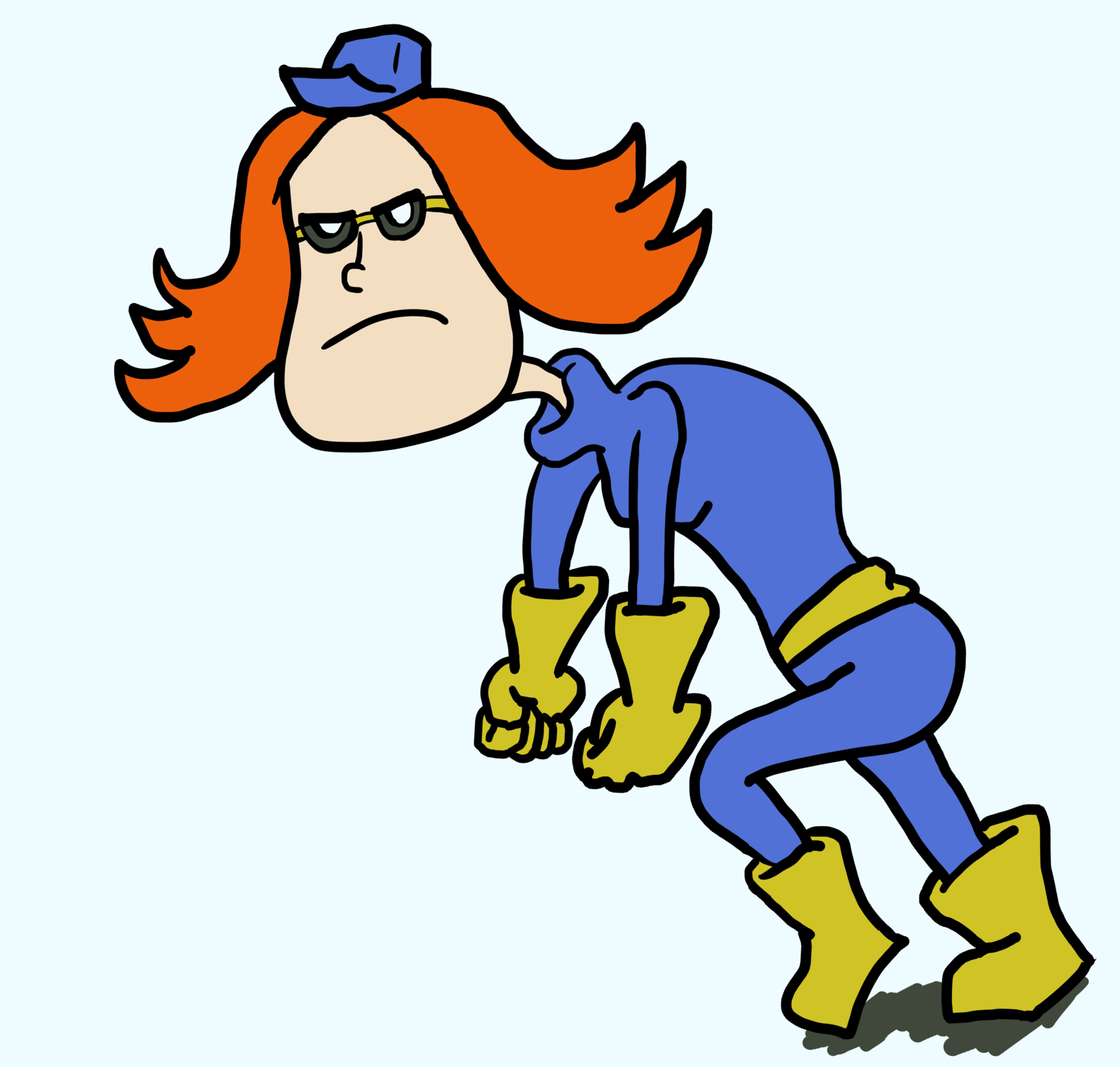 Paula - upset