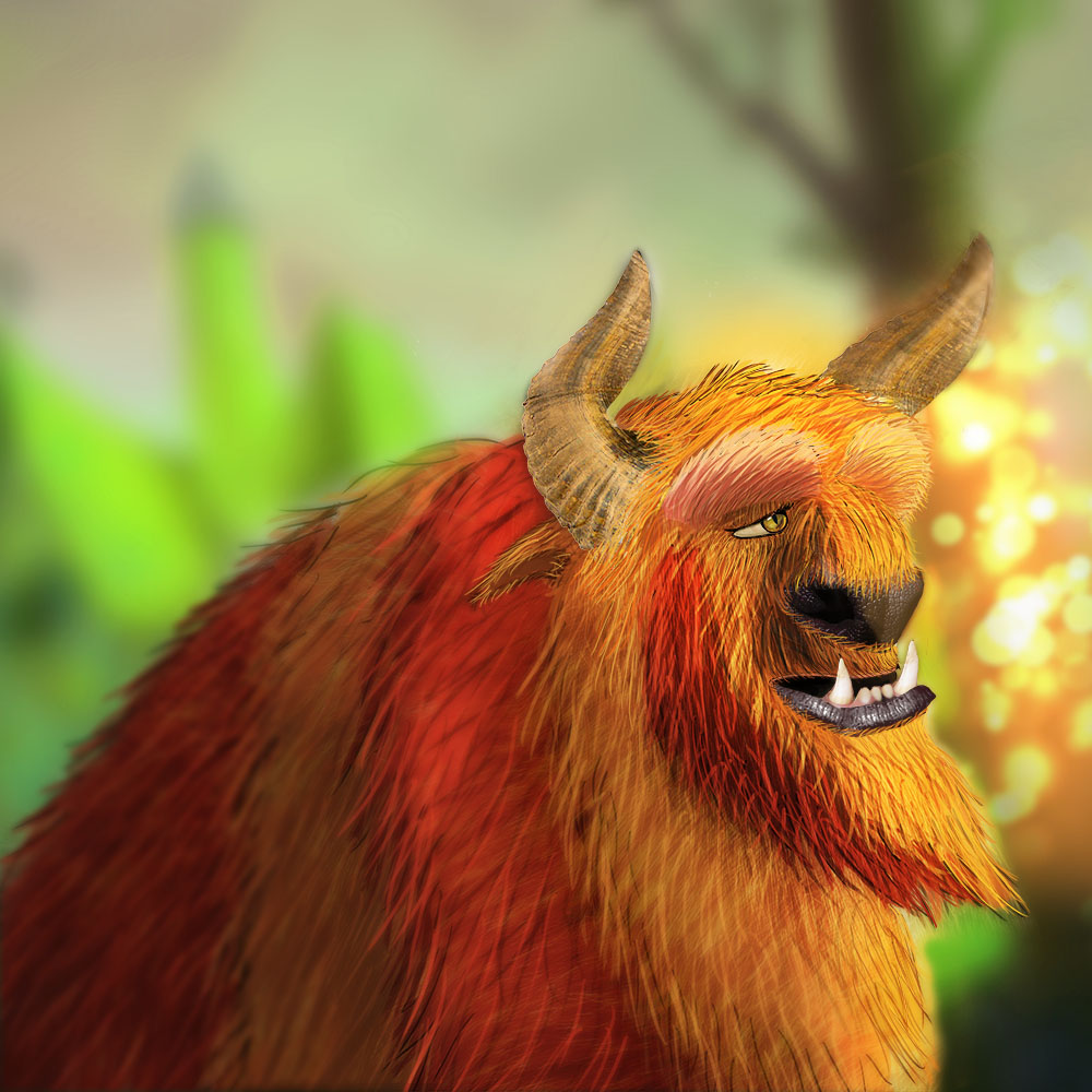 The Beast Illustration