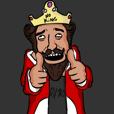 No king 0/10