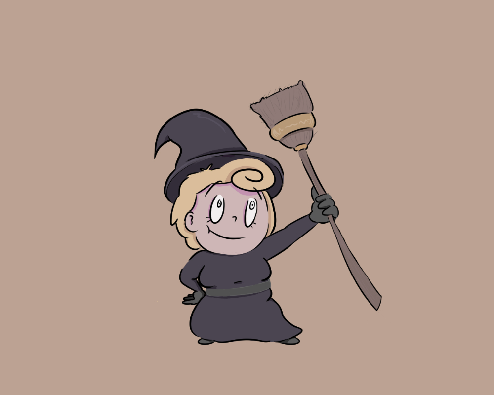 Witch Character Design