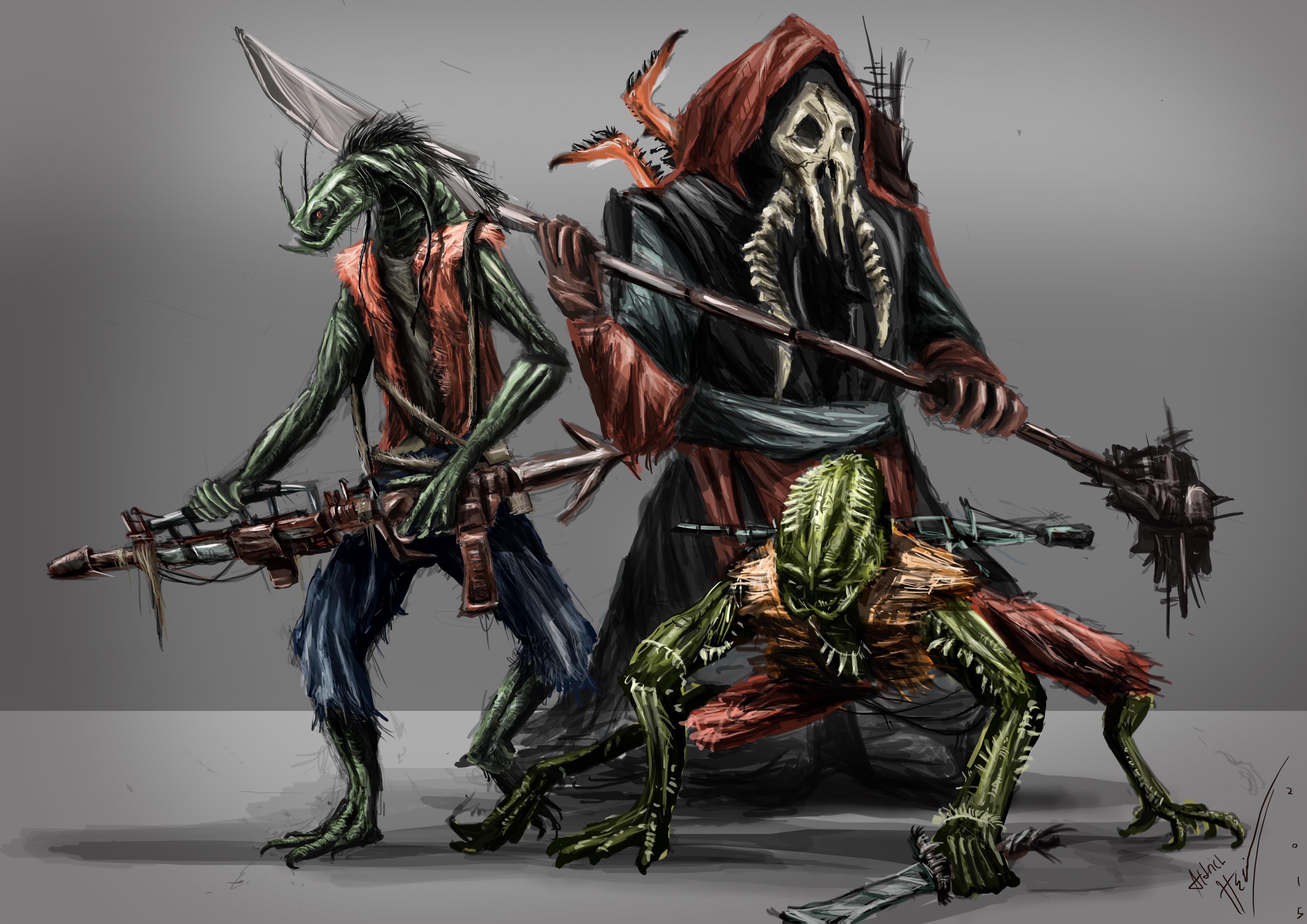 miasmic mercenaries