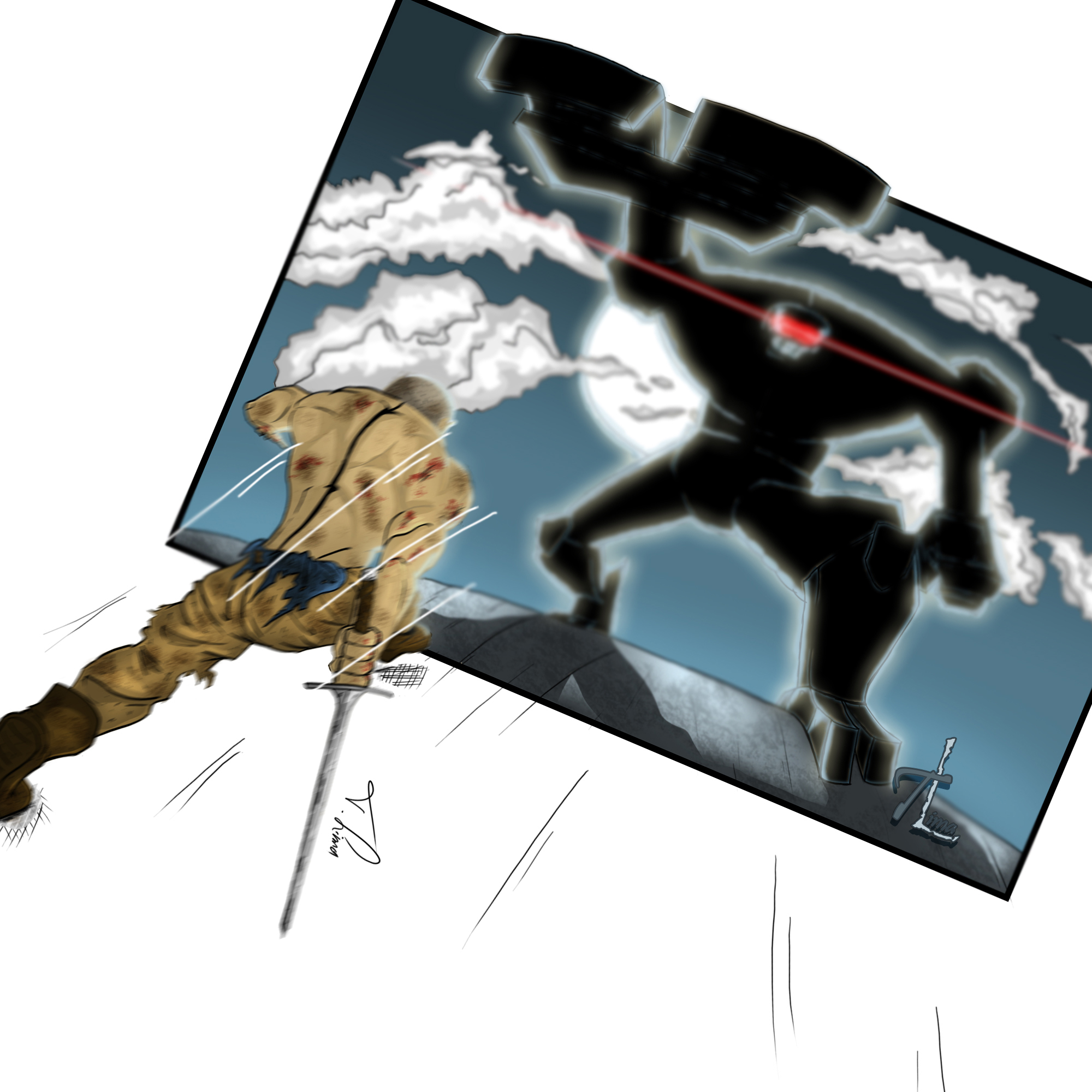 Attack On The Metal Giant