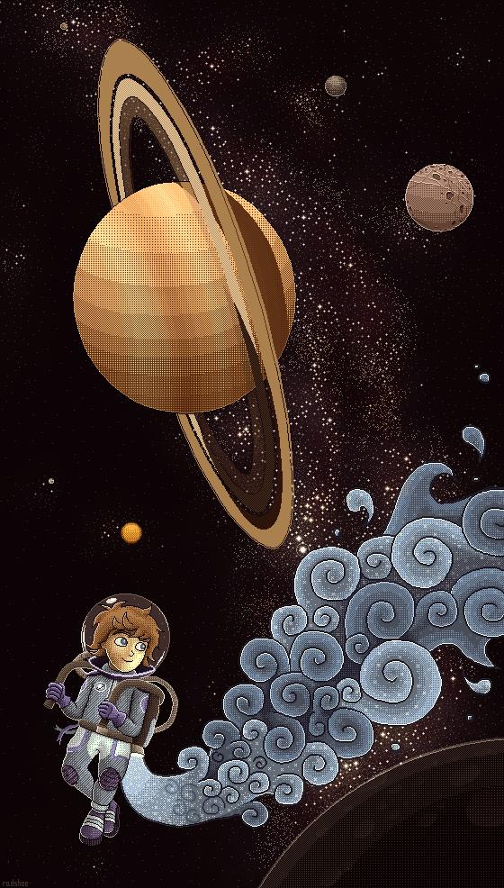 Around Saturn