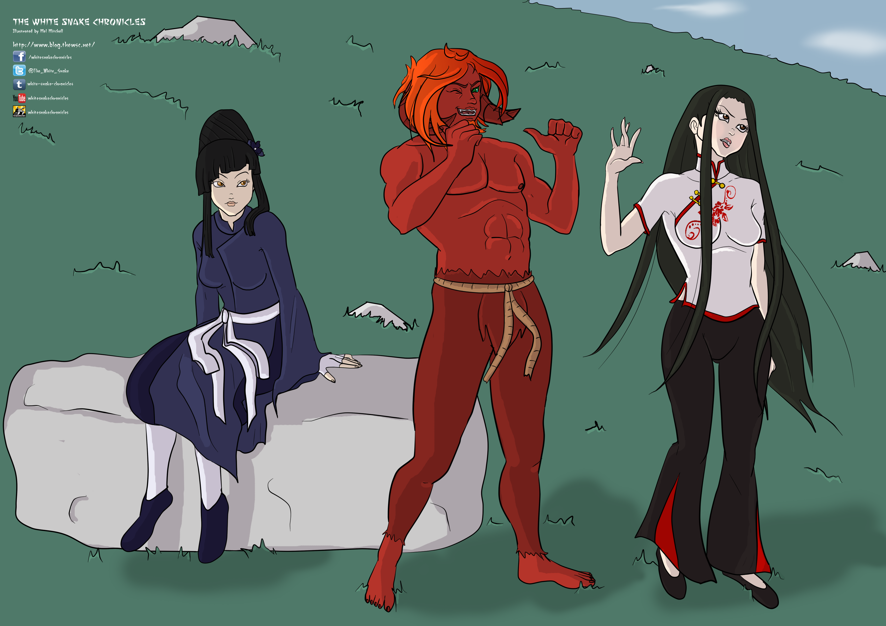 The White Snake Chronicles Promo Art #1