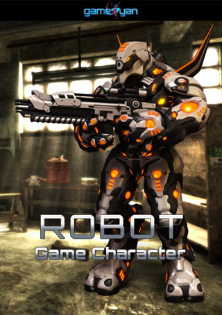 Robot Game Character Animation for Games