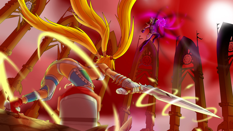 X-Blades : Finale
