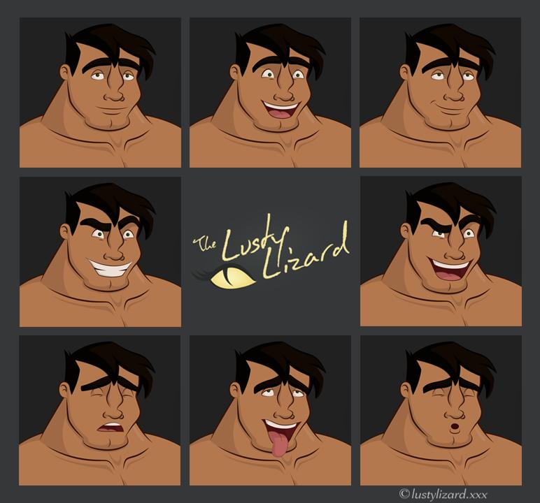 """Hardbodies"" Bruce Emotions"
