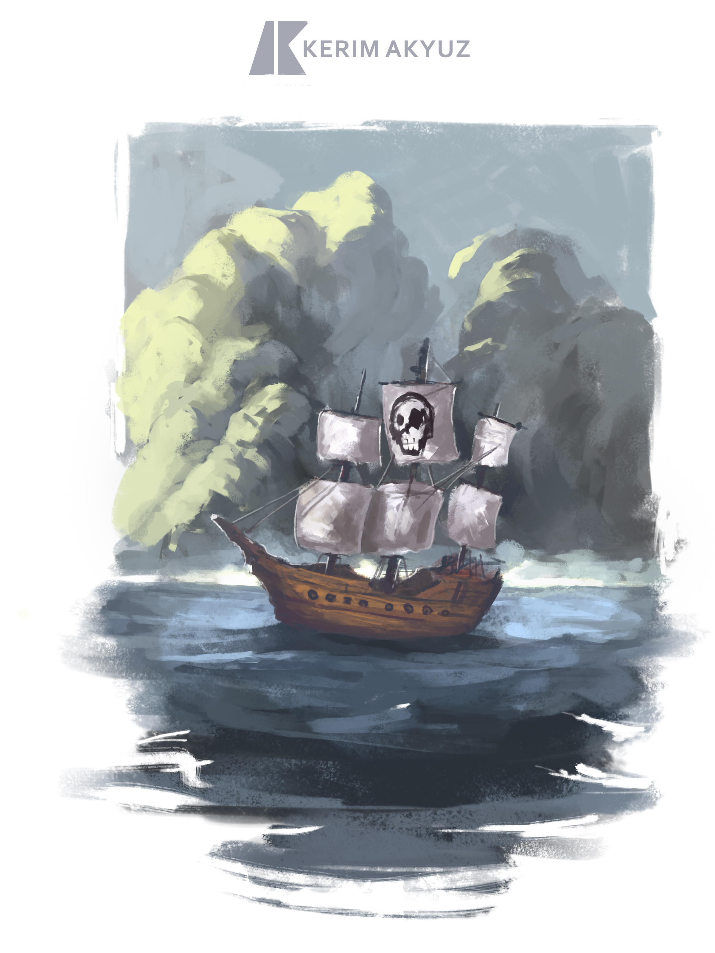 Daily Imagination #29 - Pirate Ship