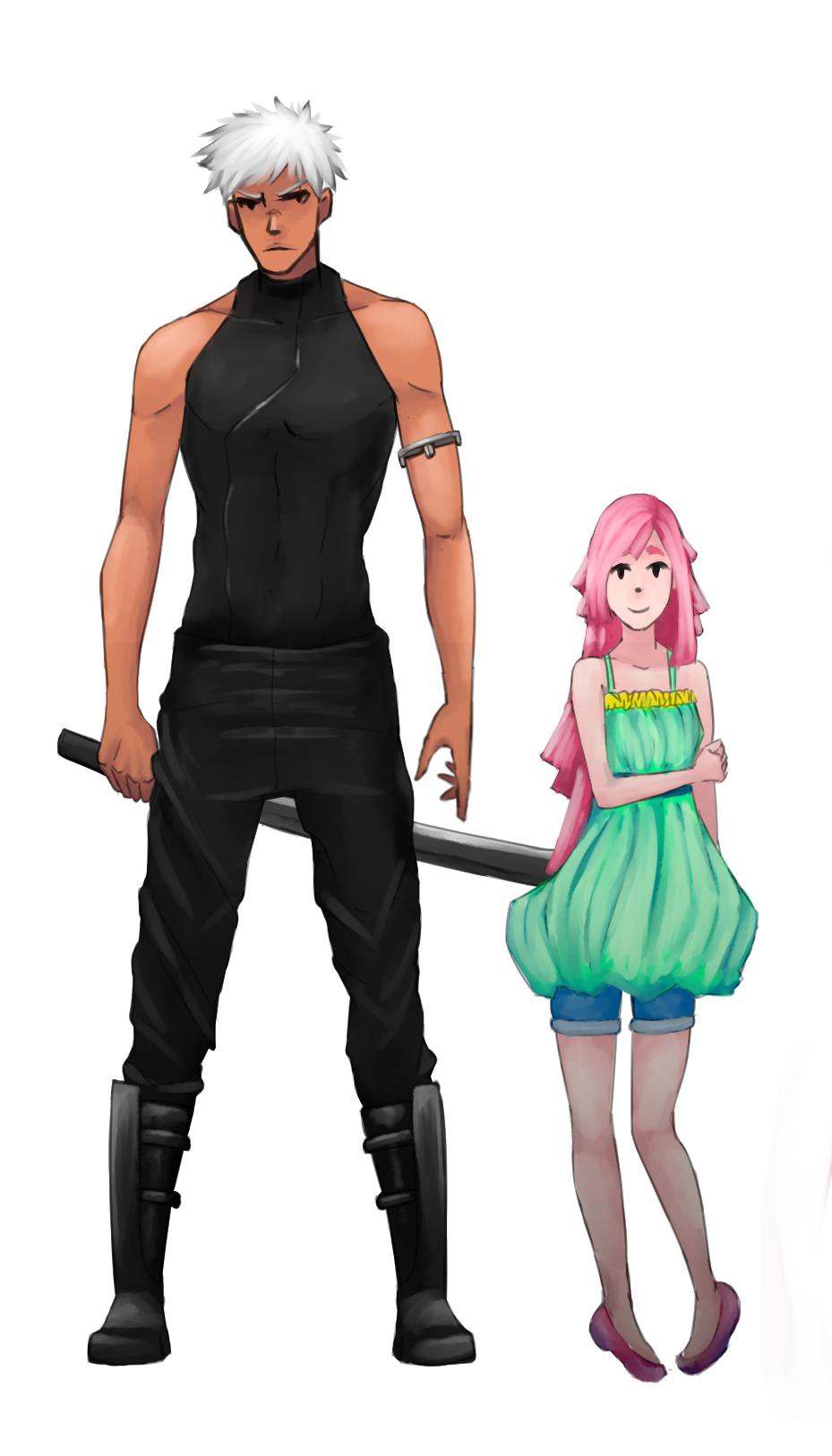 Noir and Haruka