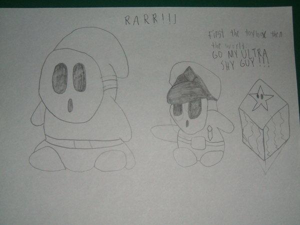 Rarrrr Super Shyguy!!!