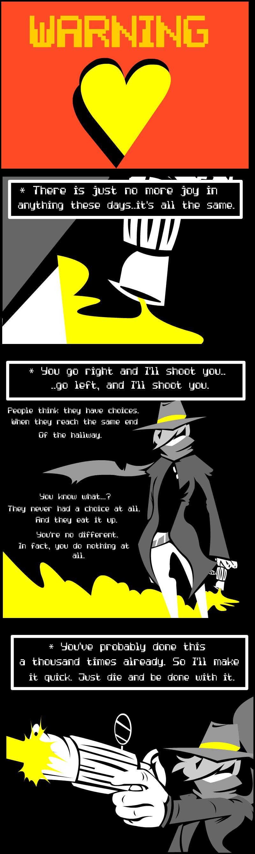 The Quickshot Pt. 1( Undertale Spoils)