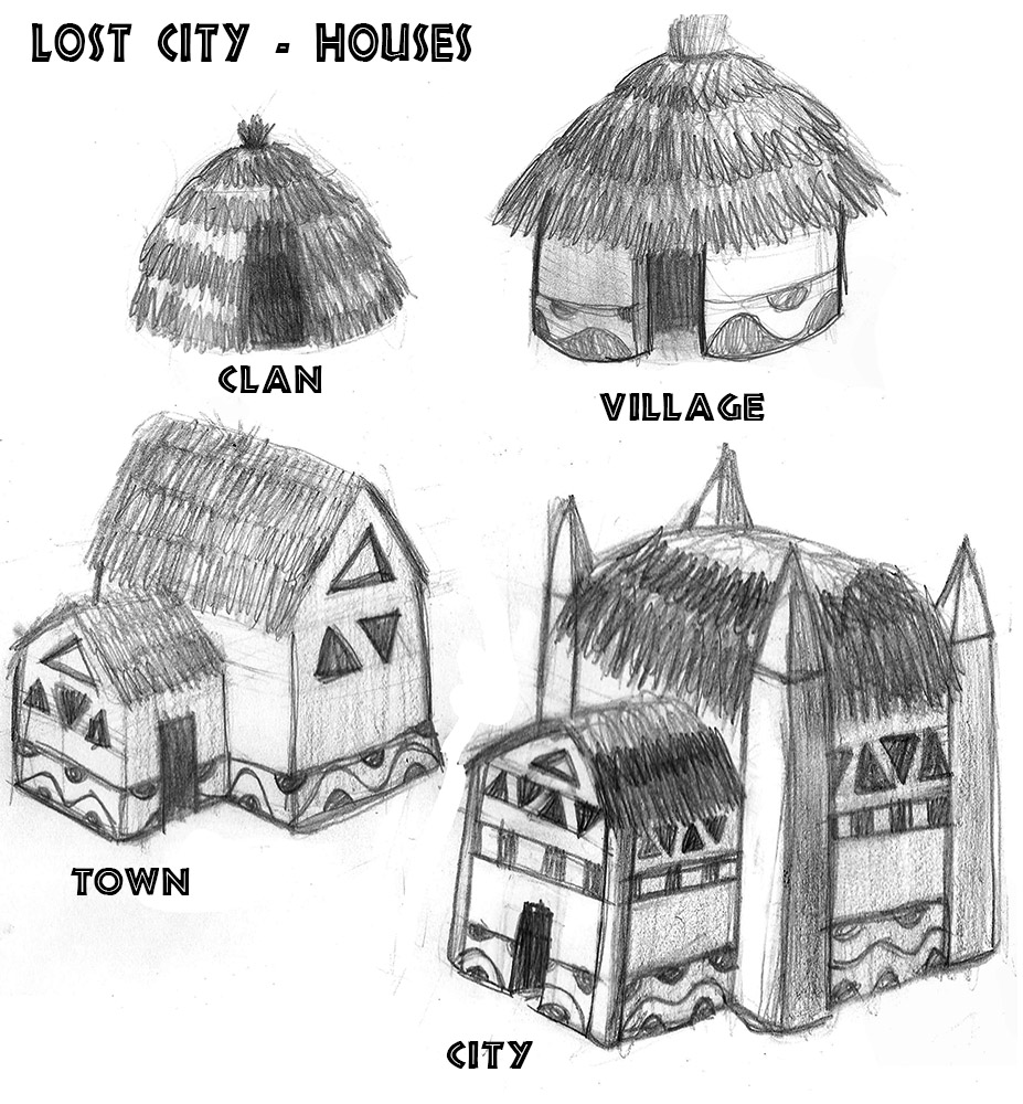 Lost City House Concepts