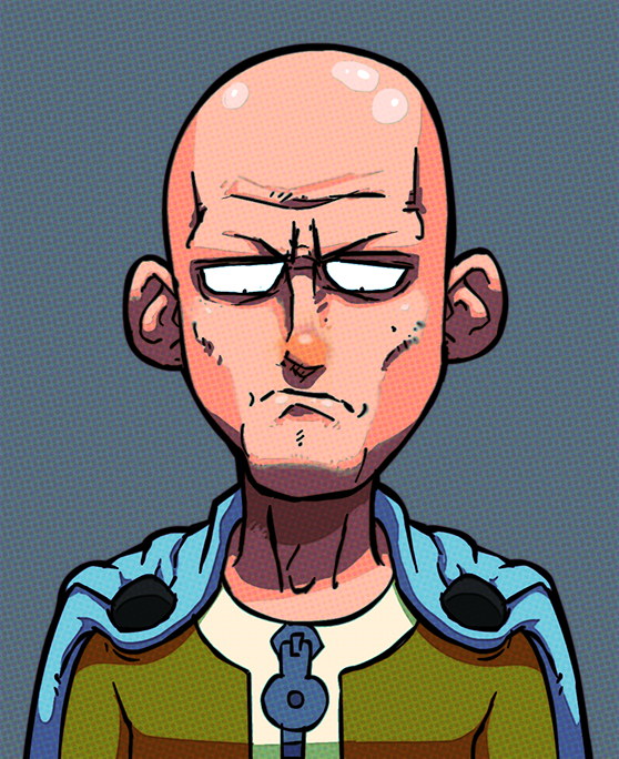 Sad One Punch Man