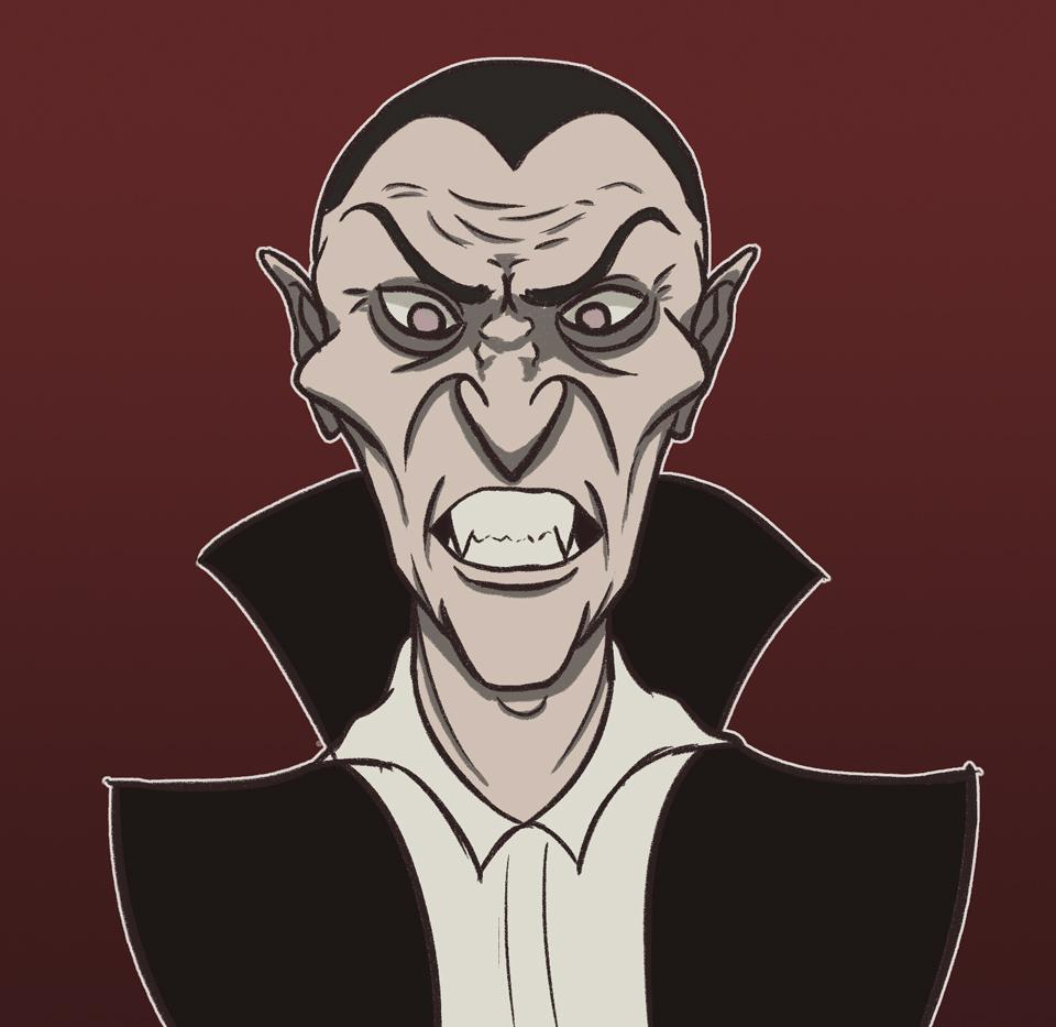 Irate Dracula