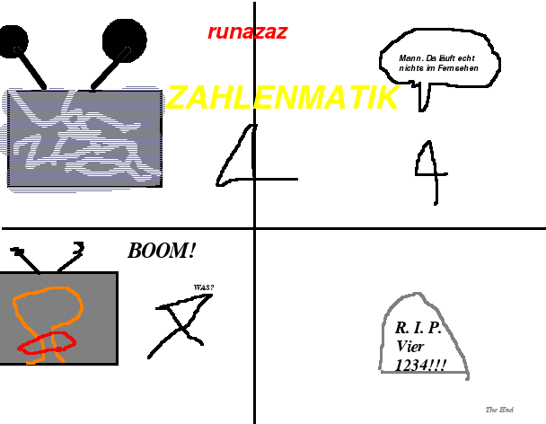 Zahlenmatik 4 (Deutsch,German,Allemand)