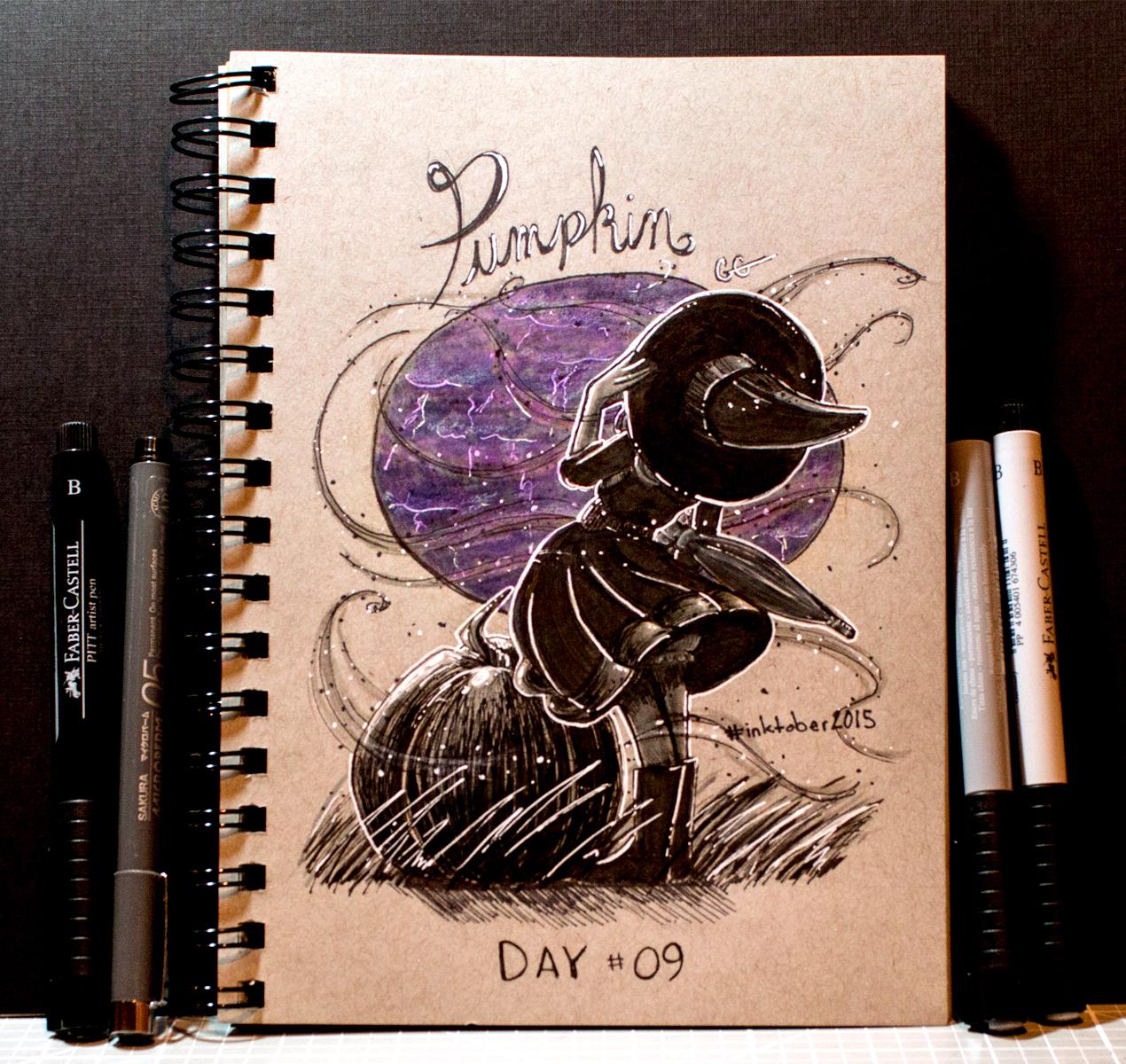 Pumpkin Inktober 2015 - Day 9