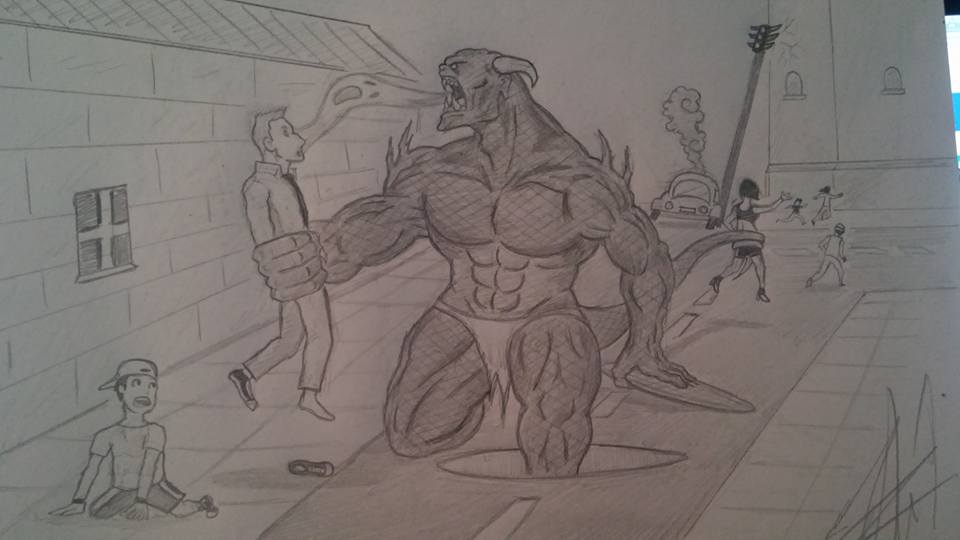 Attack on Grimataur