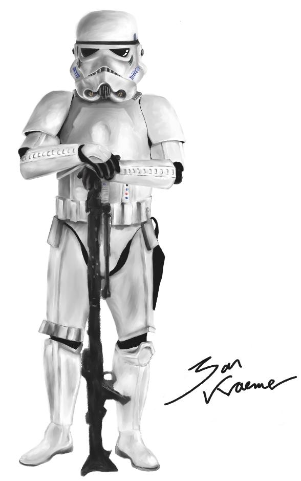 Storm Trooper 90%complete