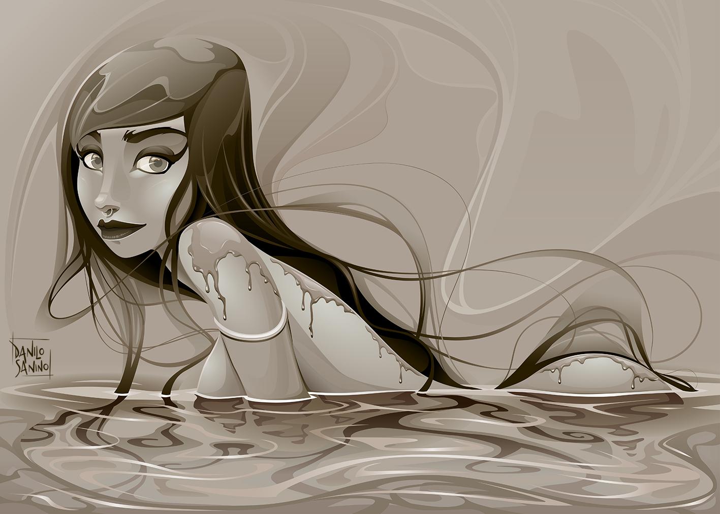 Portrait of a mermaid #2