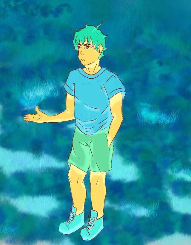 neon boy