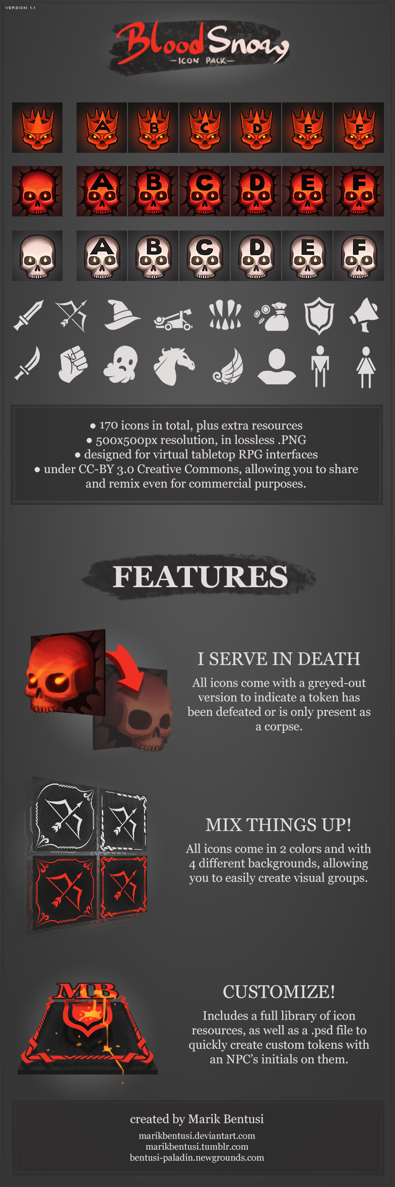 BloodSnow Icon Pack