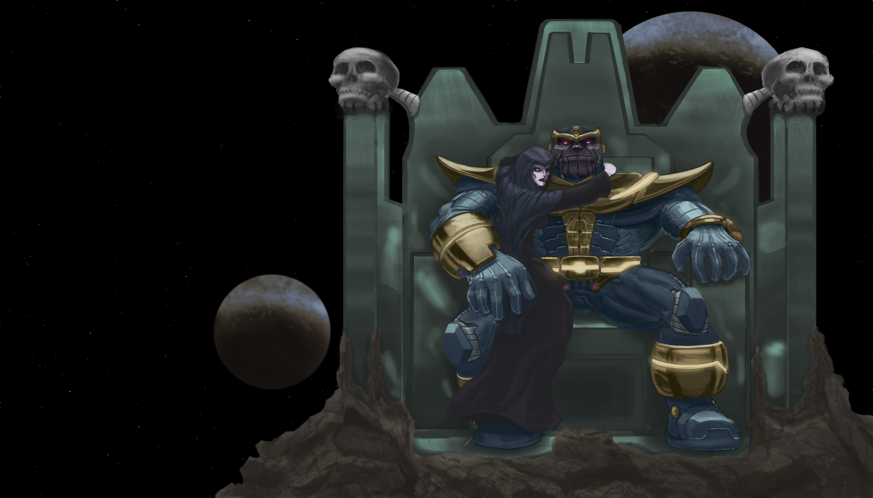 Thanos and Death