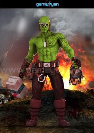 Funifap Warrior Character Modeling