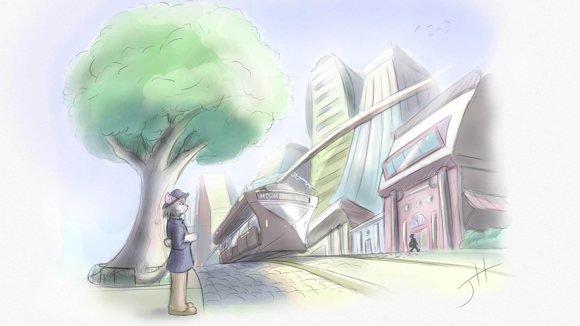 Highridge City Concept
