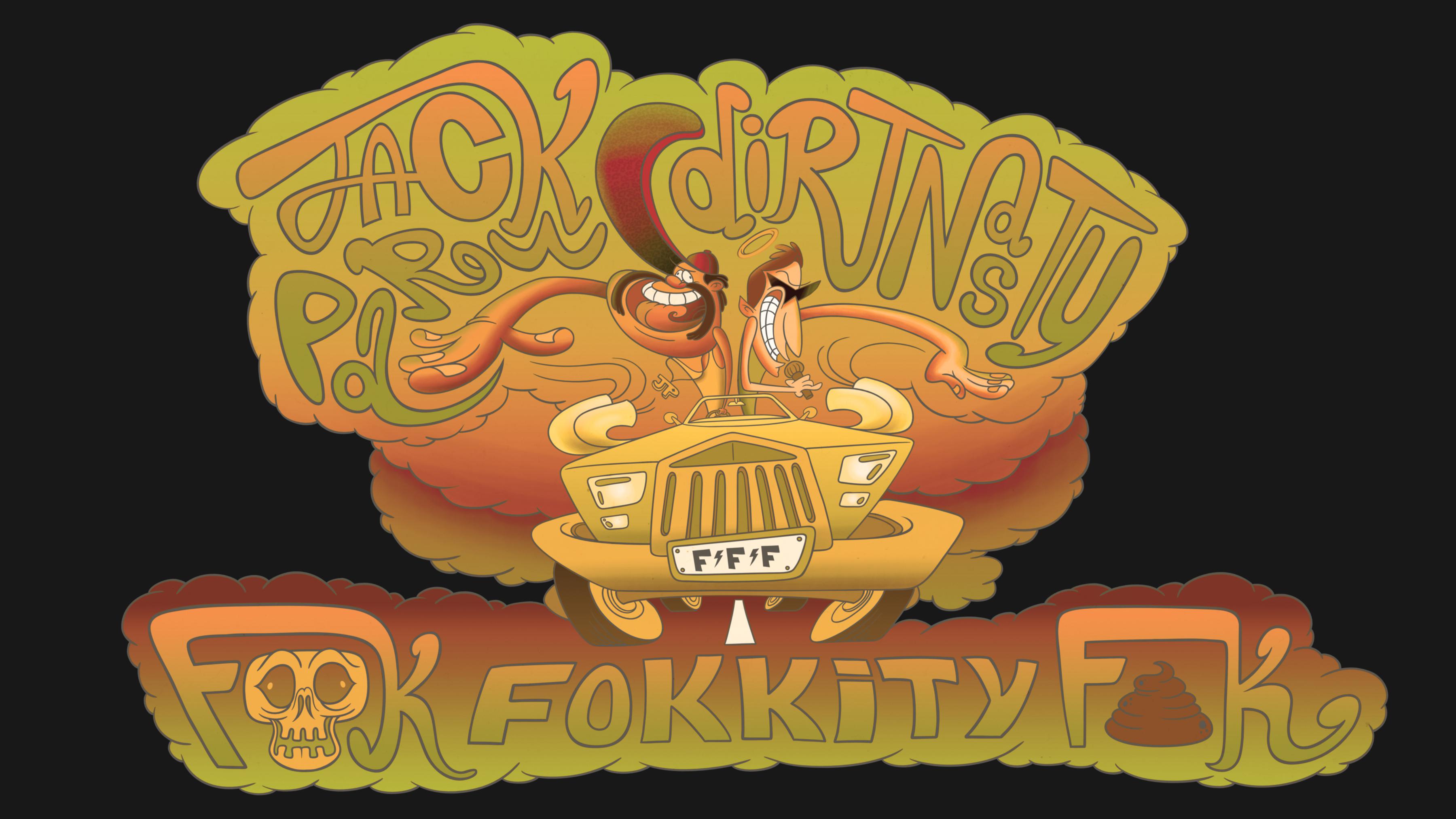 Jack Parow - Dirt Nasty - T Shirt Design