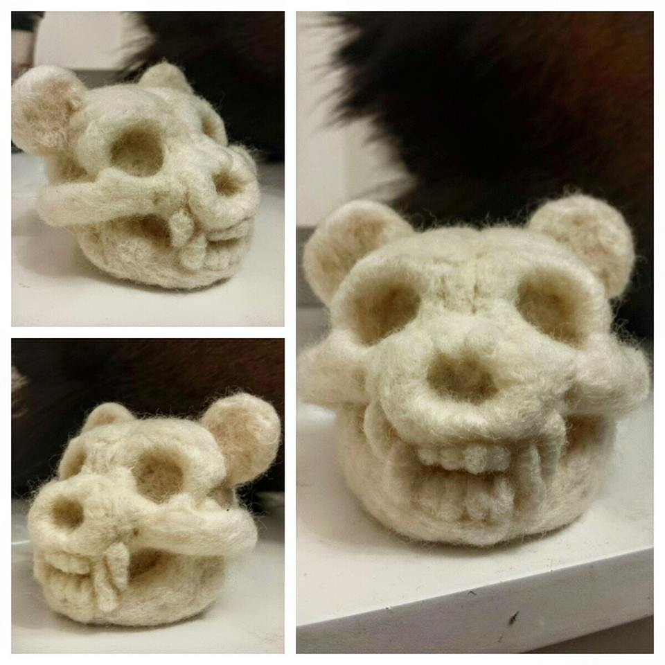 Teddy Bear Skull