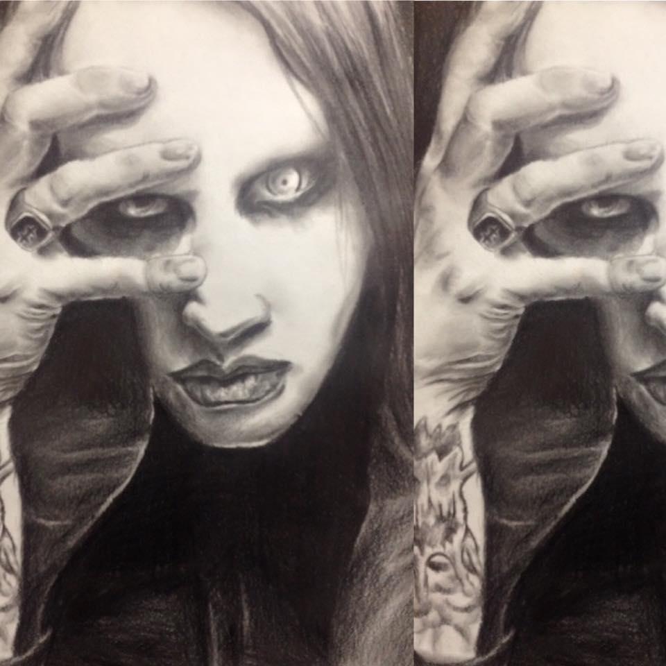Marilyn Manson Finished