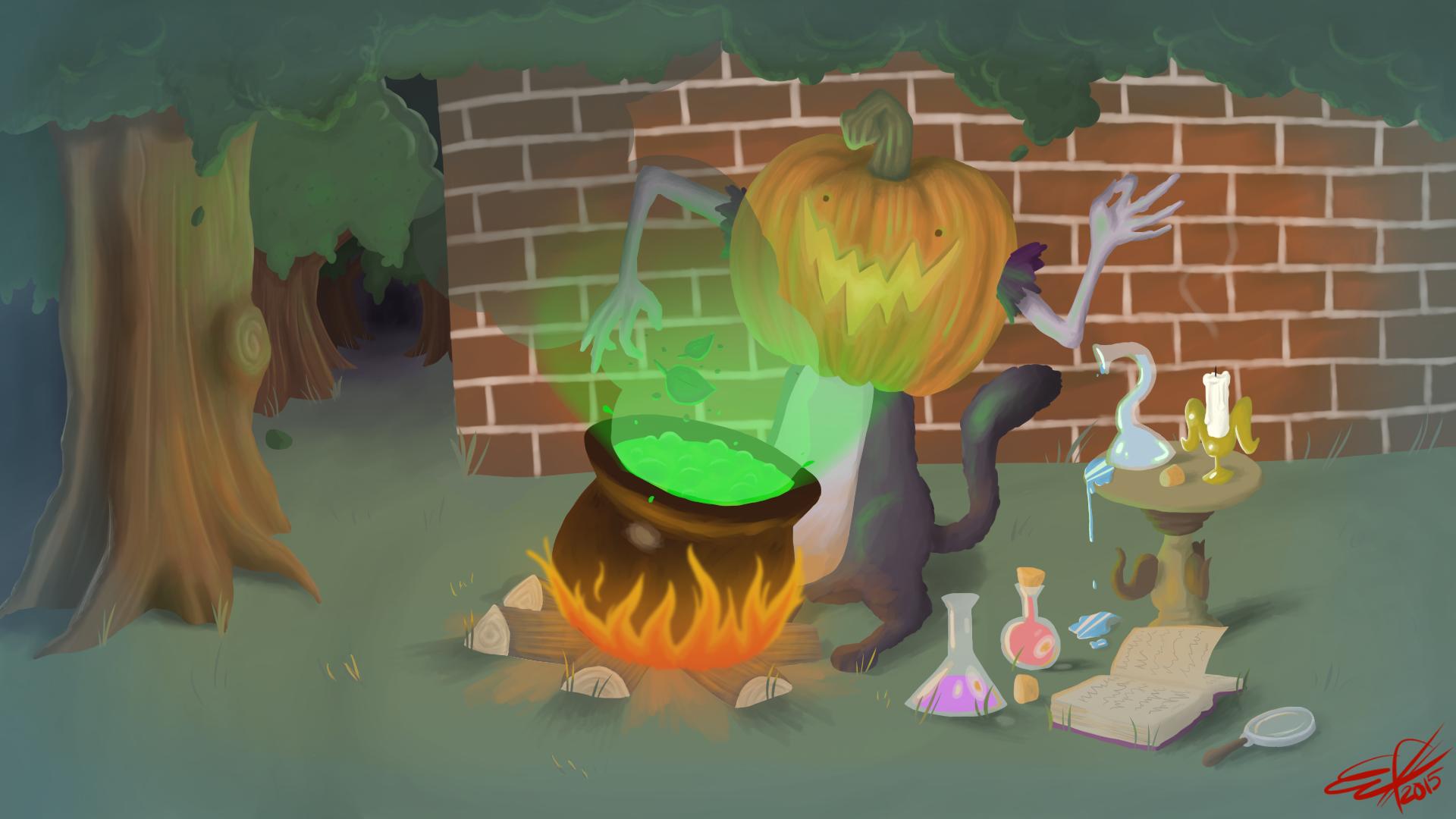 Pumpkin Alchemist