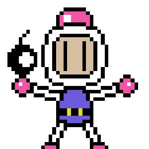 bomberman pixels