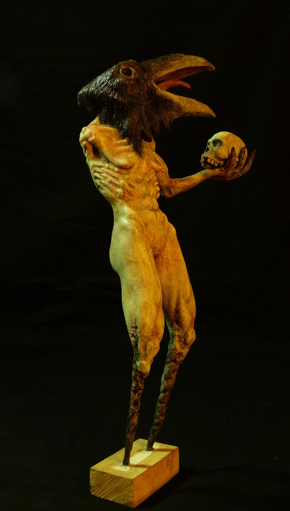 Sculpture - Crow