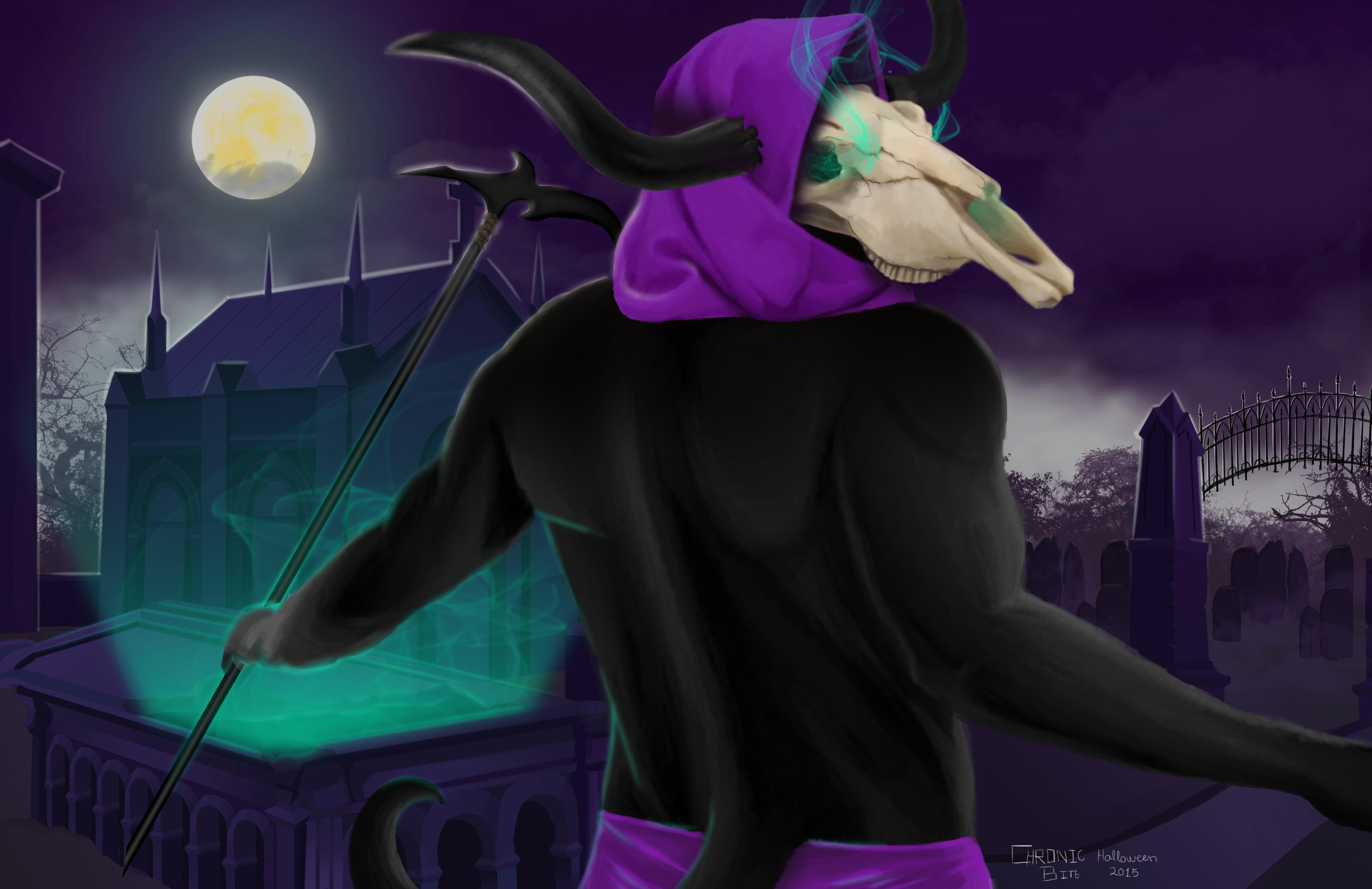 Grim reaper - Halloween 2015