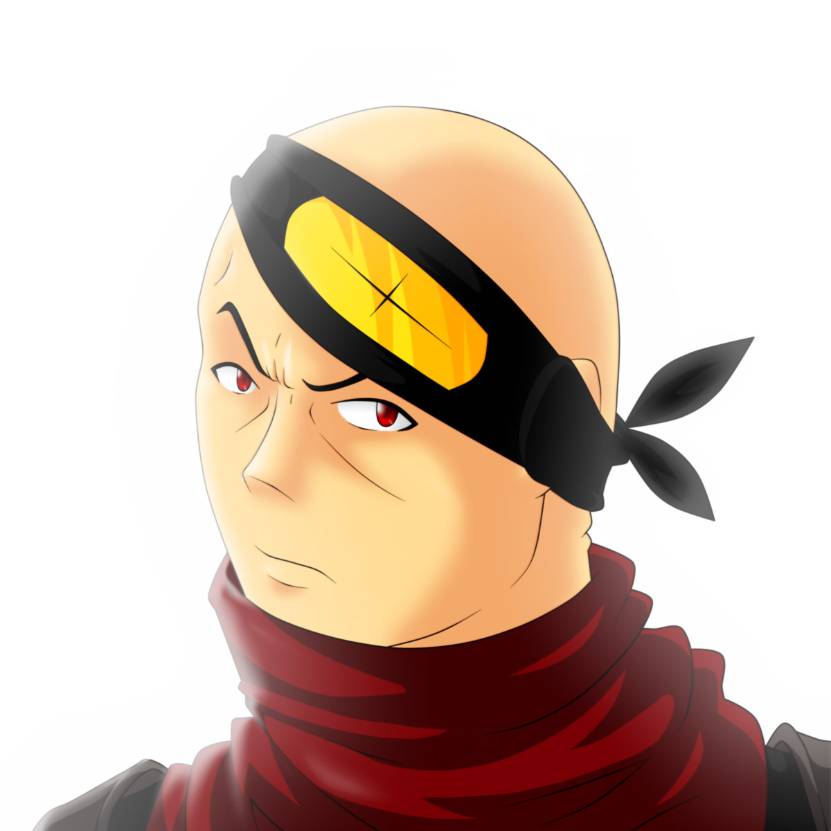 Korosai's face
