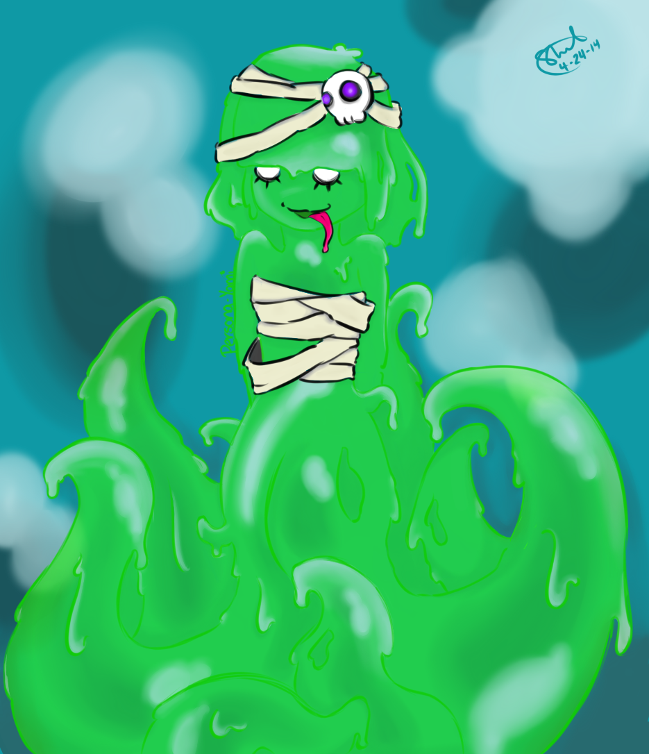 Sweat Slime Girl