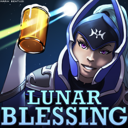 Commission: Lunar Blessing