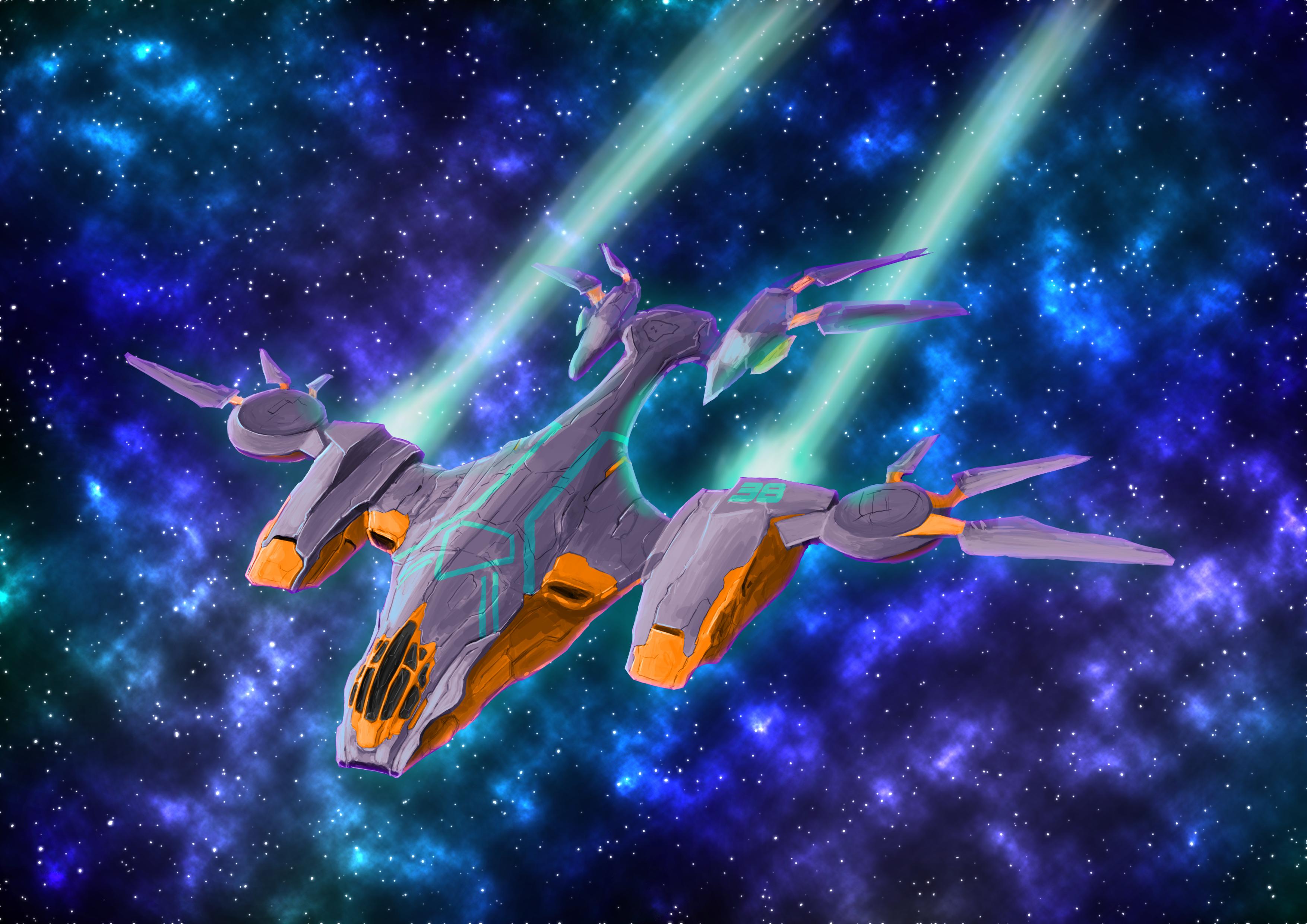 Cormorant Class Starship