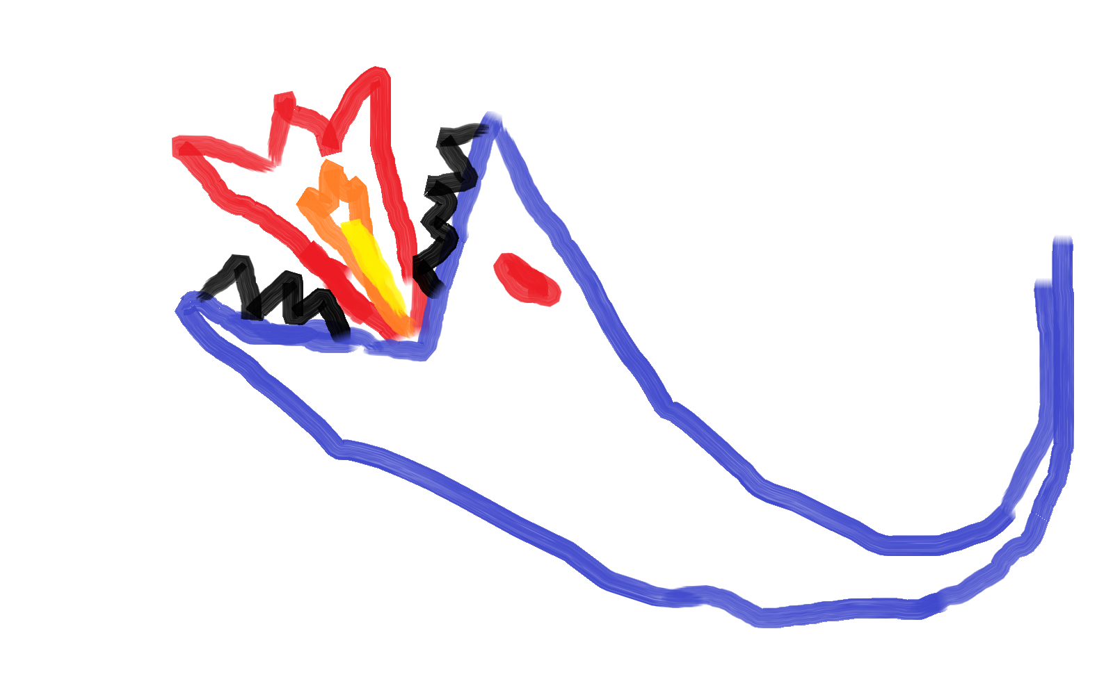 Indigo dragon