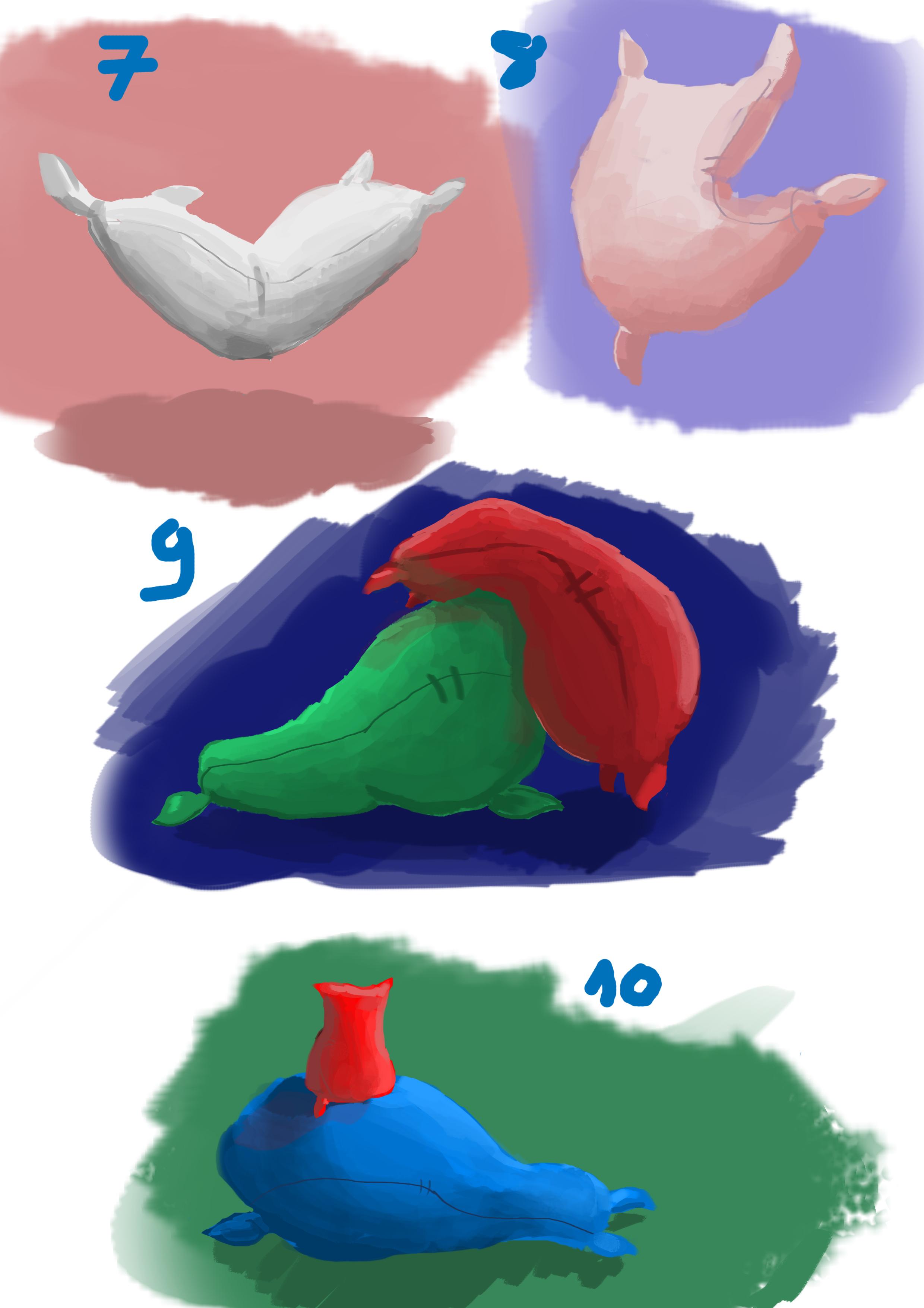 Flour sack / pillows 2