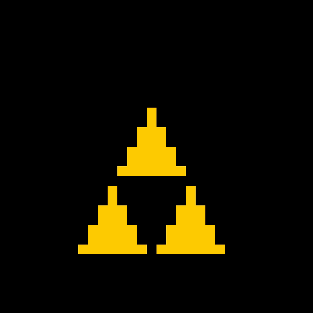 8-bit Triforce
