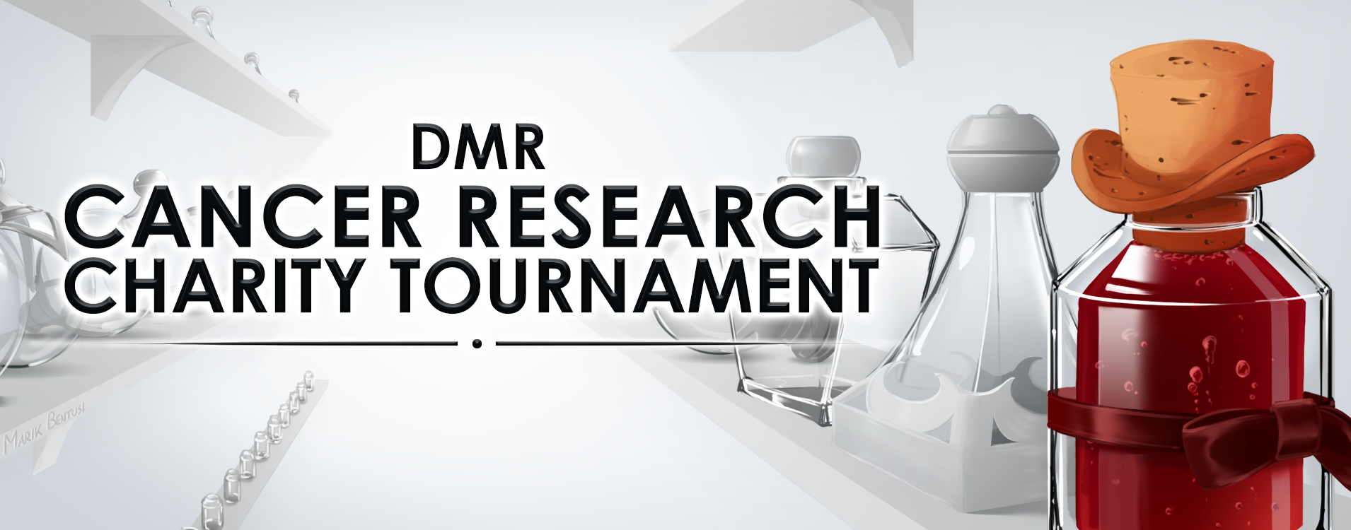 DMR Cancer Research Charity Tournament Card